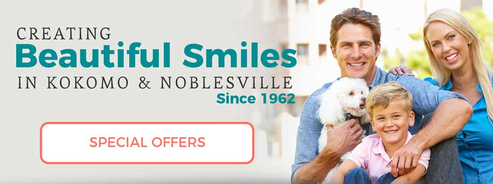 Creating Beautiful Smiles in Kokomo and Noblesville since 1962